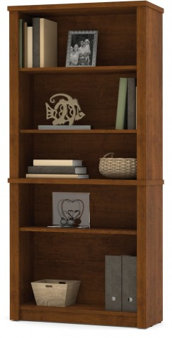 Embassy Modular Bookcase In Tuscany Brown