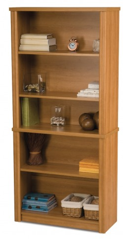 Embassy Modular Bookcase In Cappuccino Cherry