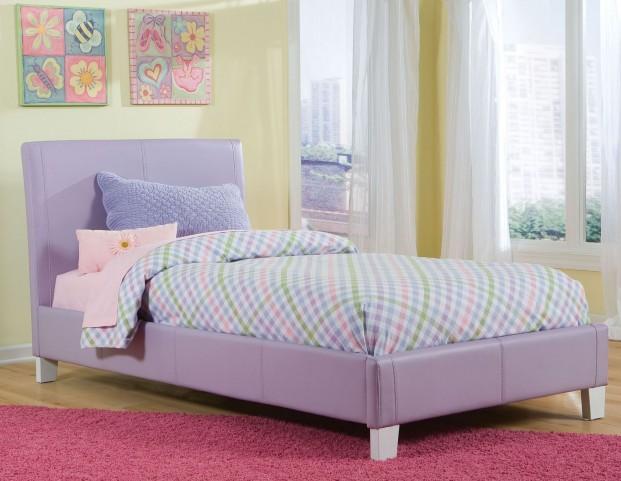 Fantasia Lavender Full Upholstered Bed