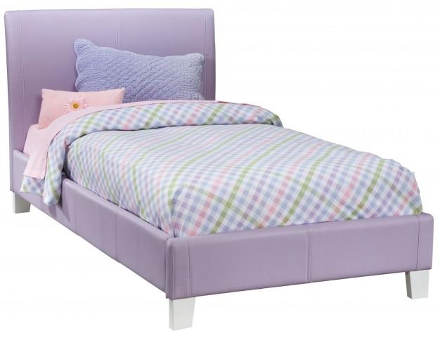 Fantasia Lavender Twin Upholstered Bed