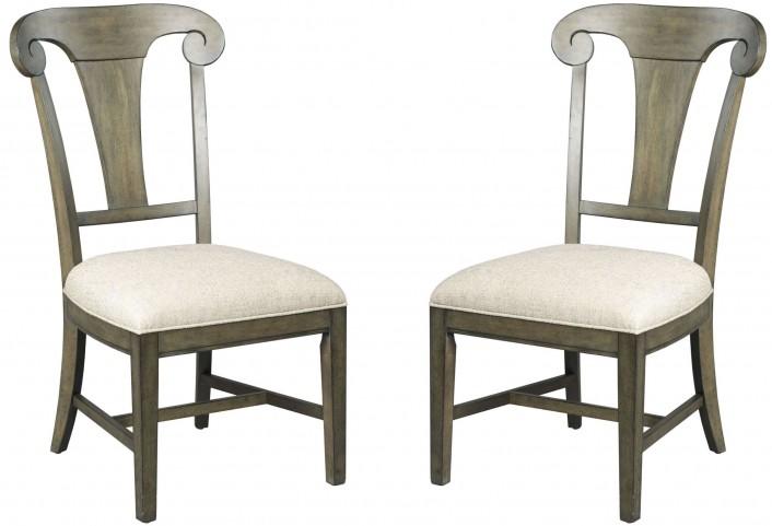 Greyson Fulton Splat Back Side Chair Set of 2