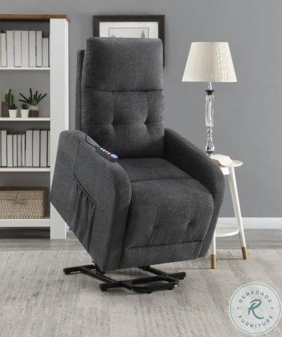 609403P Charcoal Power Lift Massage Chair