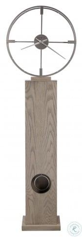 Juno Seaside Grey Floor Clock