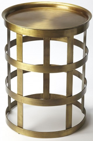 Regis Industrial Chic Accent Table