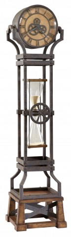 Hourglass Floor Clock