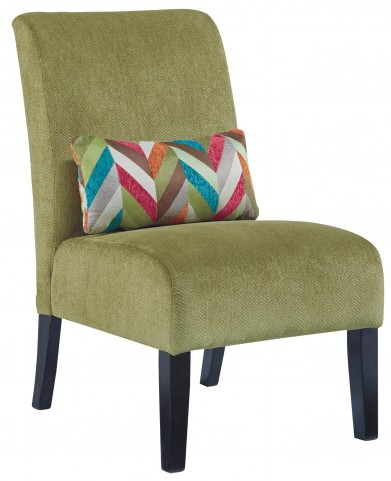 Annora Green Accent Chair
