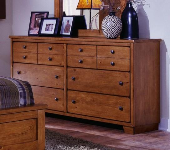 Diego Cinnamon Pine Dresser