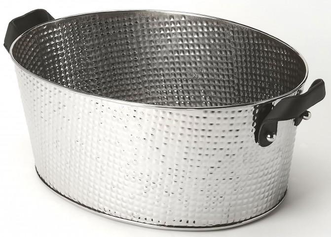 Avant Hammered Stainless Steel Wine Bucket