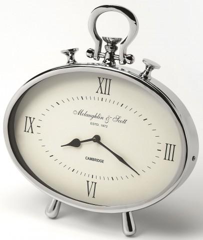 Leah Oval Desk Clock