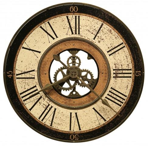 Brass Works Wall Clock