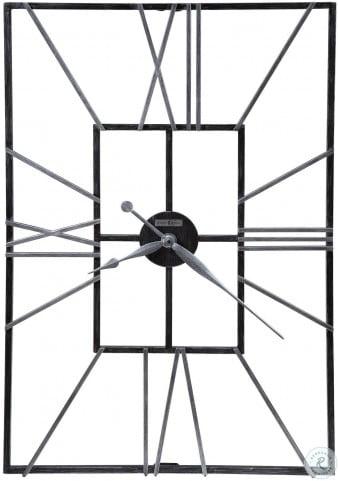 Park Slope Silver Wall Clock