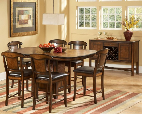 Westwood Counter Height Extendable Dining Room Set