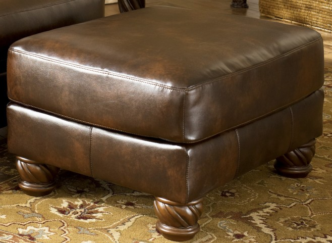 Fresco DuraBlend Antique Accent Ottoman