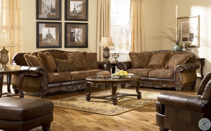 fresco durablend antique living room set fresco durablend antique living room set from 25328