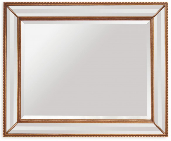 La Scala Ant Gold Wall Mirror