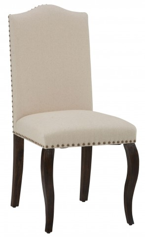 Grand Terrace Wire Brush Upholstered Side Chair Set of 2