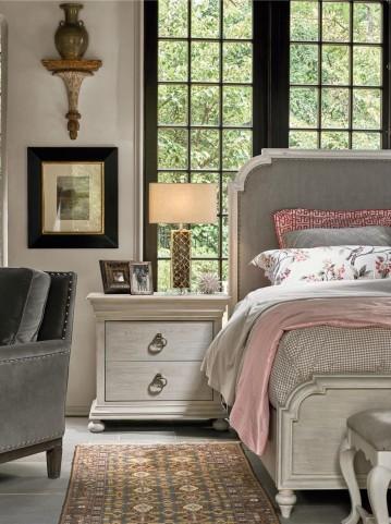 Elan Elm Upholstered Panel Bedroom Set