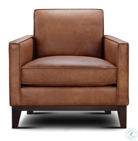Chelsea Honey Roscoe Leather Chair