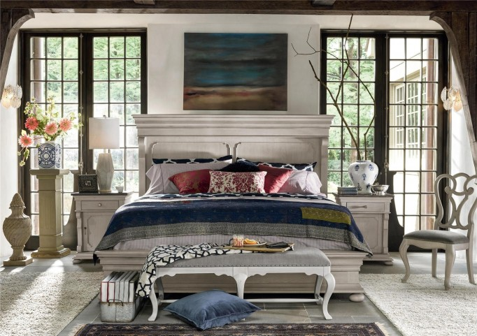 Elan Elm Panel Bedroom Set