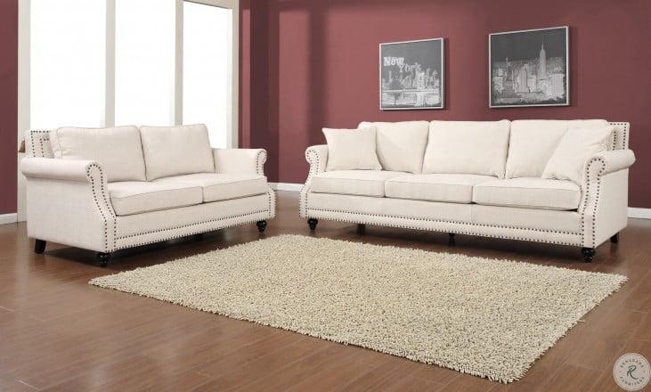Camden Beige Linen Sofa From Tov Tov 63802 3 Beige