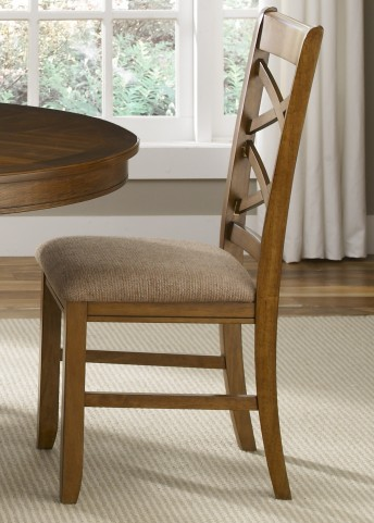 Bistro Double X Back Side Chair