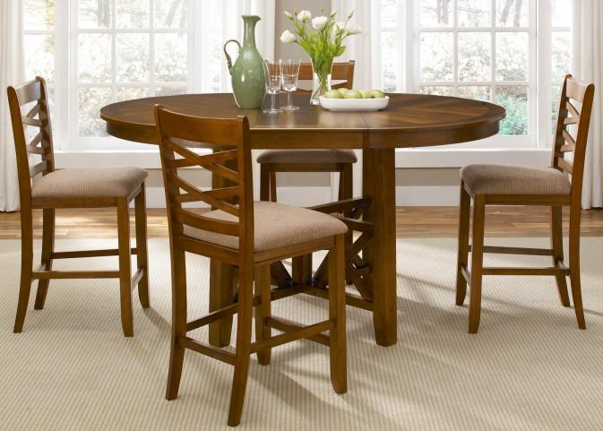 Bistro Extendable Gathering Table Set