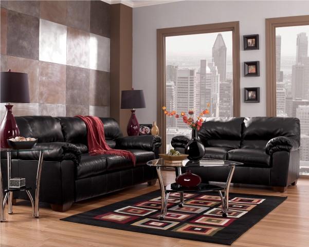 Commando Black Living Room Set