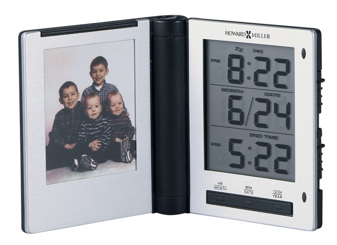 Photo Traveler Table Clock