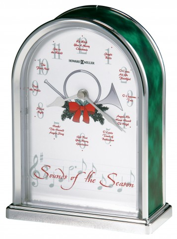 Sounds of the Season Table Clock