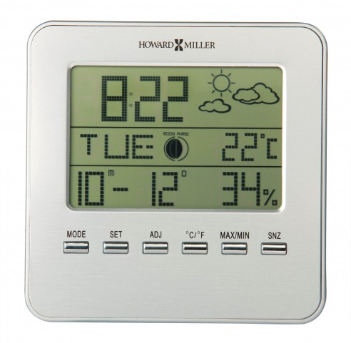 Weather View Table Clock