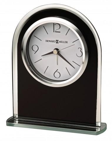 Ebony Luster Table Clock