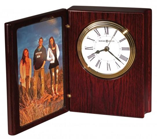 Portrait Book II Table Clock