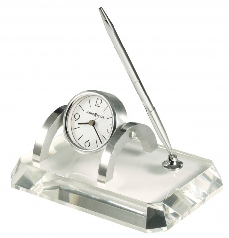 Prominence Desk Set Table Clock