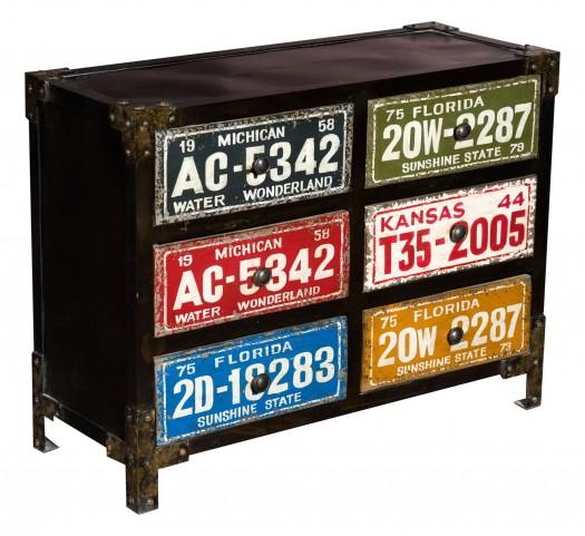 Amara 6-Drawer Cabinet