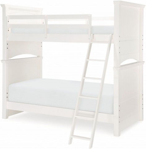 Summerset Ivory Twin Over Twin Bunk Bed From Legacy Kids Coleman
