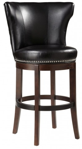 Tavern Black Swivel Barstool