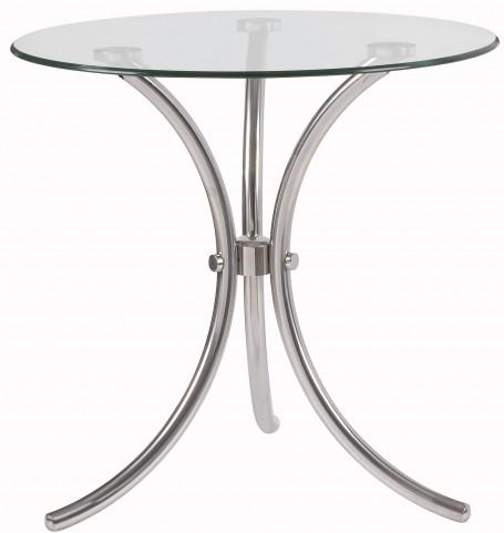 Trio Silver Accent Table