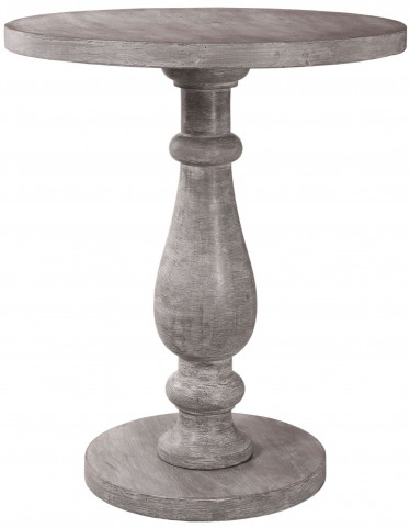 Tango Gray Washed Accent Table