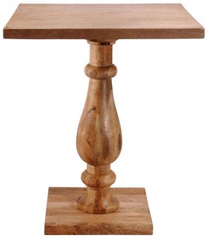 Tango Natural Sanded Accent Table