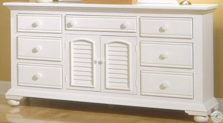 Fine Cottage Traditions White Triple Dresser Best Image Libraries Counlowcountryjoecom