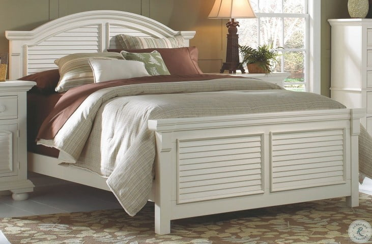 Superb Cottage Traditions White Queen Panel Bed Best Image Libraries Counlowcountryjoecom