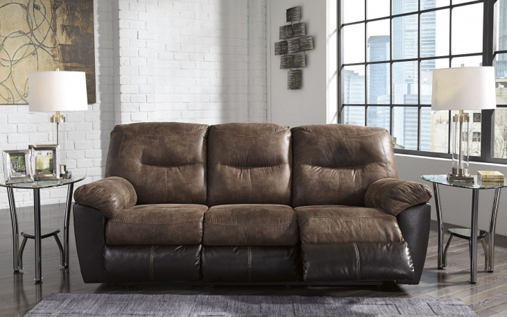 Follett Coffee Reclining Sofa