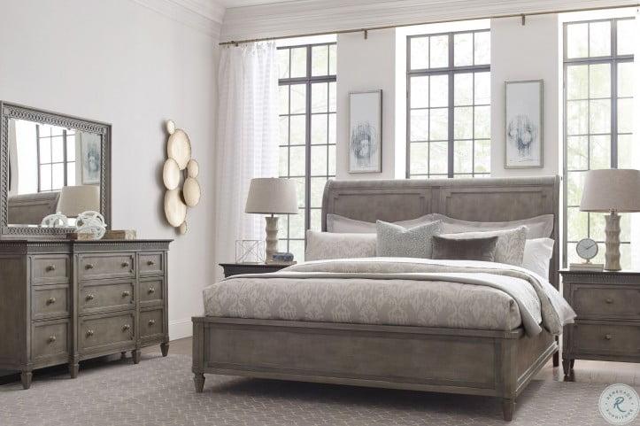 Savona Versaille Anna Queen Sleigh Bed