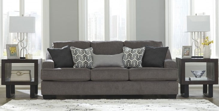Astonishing Gilmer Gunmetal Sofa Caraccident5 Cool Chair Designs And Ideas Caraccident5Info