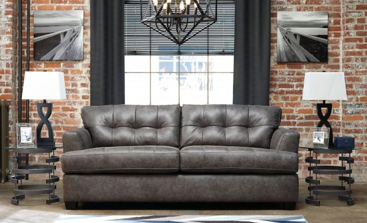 Inmon Charcoal Sofa