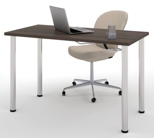 """48"""" Antigua Round Metal Leg Table"""