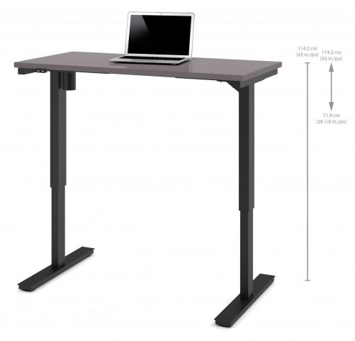 "48"" Slate Electric Height Adjustable Table"