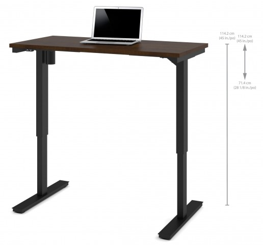 """48"""" Chocolate Electric Height Adjustable Table"""