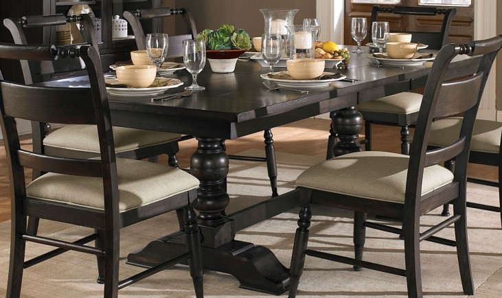 Whitney Extendable Trestle Table