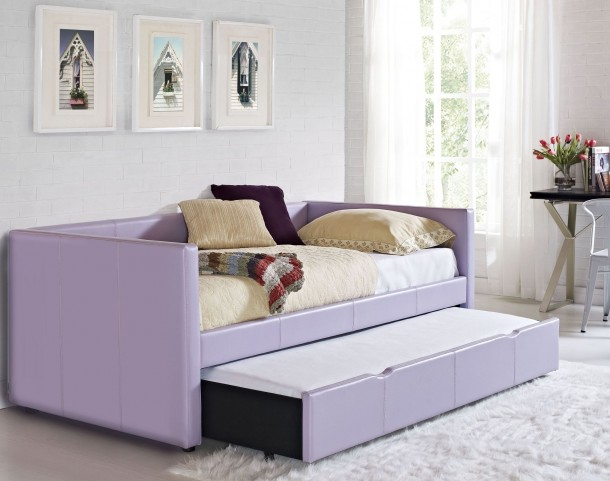 Lindsey Lavender Upholstered Daybed